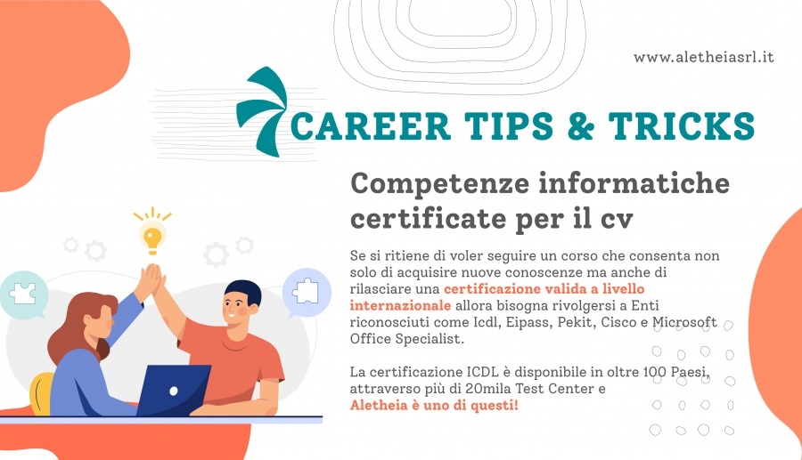 Career tips and tricks: competenze informatiche cv
